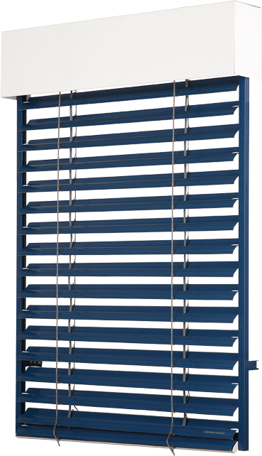 Detaily Zetta 70 external horizontal blinds