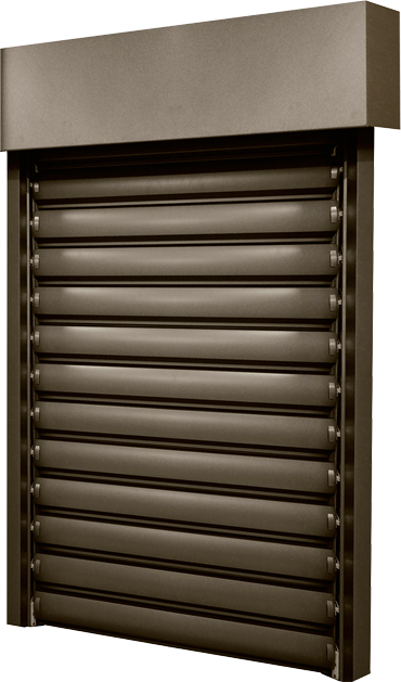 Detaily Titan 90 external horizontal blinds