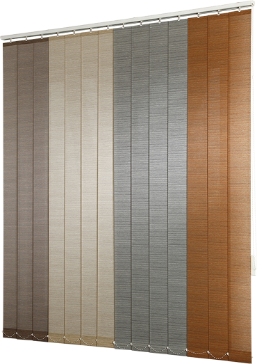 Detaily Vertical blinds from fabric