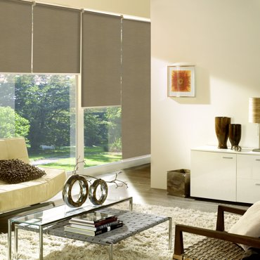 Inspirace Verra Fabric Roller Blinds – blinds for plastic windows, Euro windows and other window types