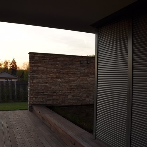 Inspirace Vivera roller blinds for external use
