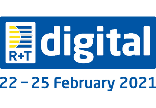 We invite you to the online fair R+T Digital 2021