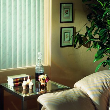 Inspirace Vertical blinds from fabric